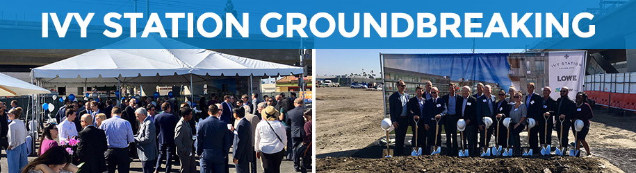 Ivy Station Groundbreaking Event in Culver City